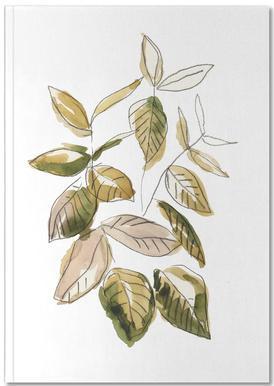Leaves 02 Notebook