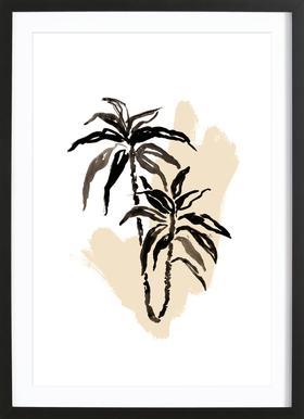 Plants & Colours 3 Framed Print