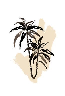 Plants & Colours 3 -Acrylglasbild