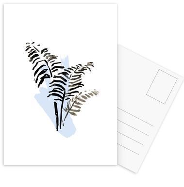 Plants & Colours 5 Postcard Set