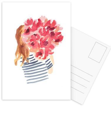 Flowergirl II Postcard Set