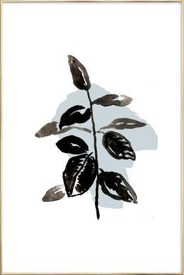 Plants & Colours 8 -Poster im Alurahmen