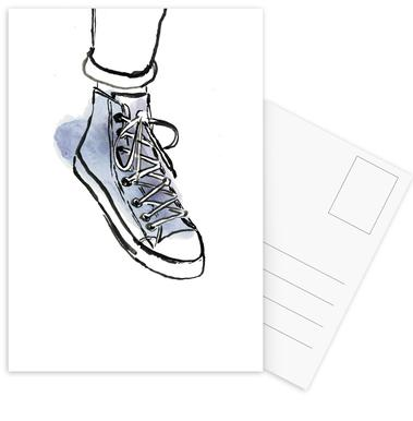 Shoe Postcard Set