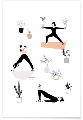Yoga With Plants 04 Poster