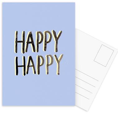 Happy Happy Postcard Set