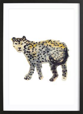 Leopard I Framed Print