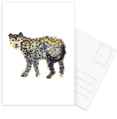 Leopard I Postcard Set