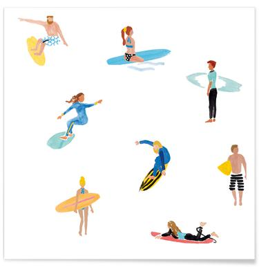 Surf People Poster