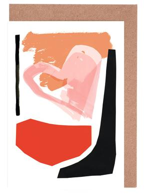 Abstract Love 01 -Grußkarten-Set