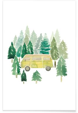 Adventure Van Woods poster