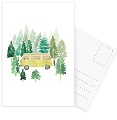 Adventure Van Woods Postcard Set