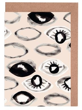 Eyes Ink I Greeting Card Set