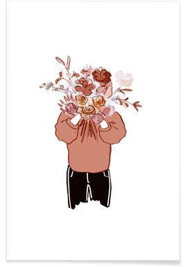 Blumenfrau -Poster