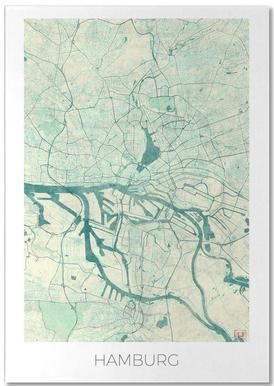 Hamburg Vintage Notepad