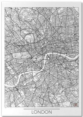 London Minimal bloc-notes