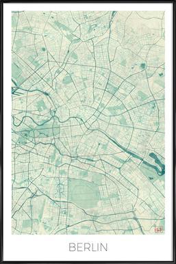 Berlin Vintage Framed Poster
