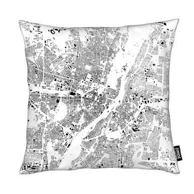 Munich Map Schwarzplan