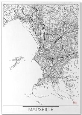 Marseille Minimal bloc-notes