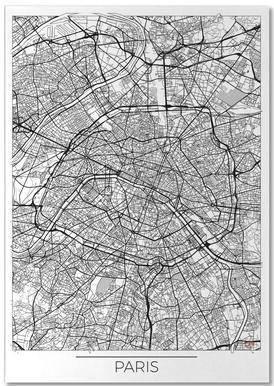 Paris Minimal bloc-notes