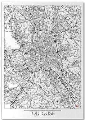 Toulouse Minimal bloc-notes
