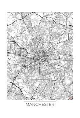 Manchester Minimal alu dibond