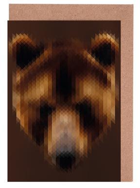 Bear Greeting Card Set