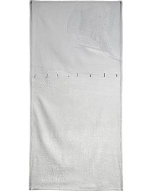 Lines in the Snow Beach Towel