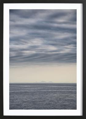 Let's Meet at the Horizon 2 Framed Print