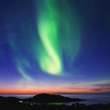 The Northern Lights 01 -Alubild