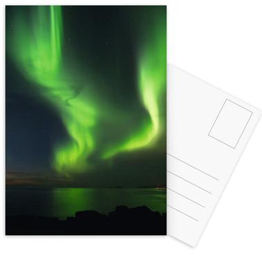 The Northern Lights 08 -Postkartenset