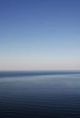 The Open Ocean 1 Aluminium Print