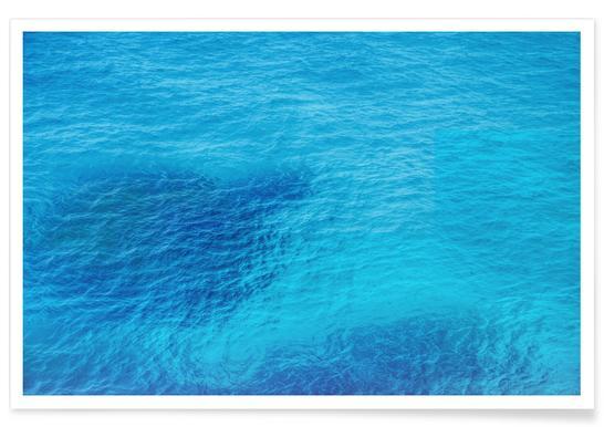 Bluest Blue Poster