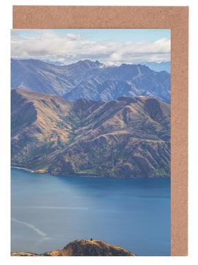 Roys Peak Lookout -Grußkarten-Set