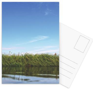 Kayaking -Postkartenset
