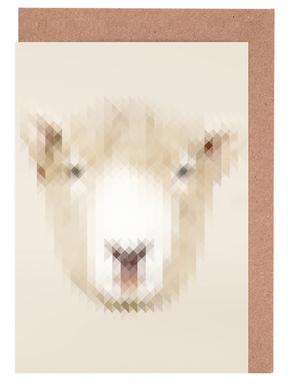 Sheep Greeting Card Set