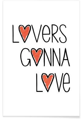 Lovers Gonna Love -Poster