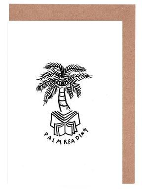 Palm Reading White