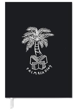Palm Reading Black Personal Planner