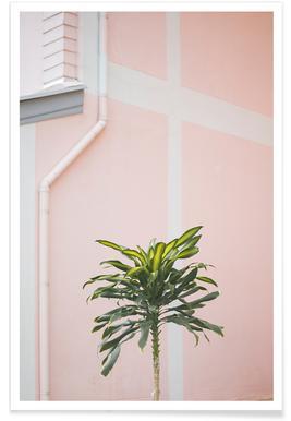 Pastel Palms - Premium Poster