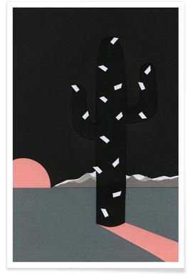 Black Sierra Nevada Poster