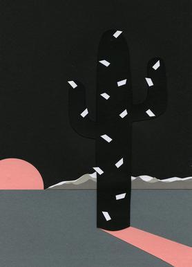 Black Sierra Nevada Canvas Print