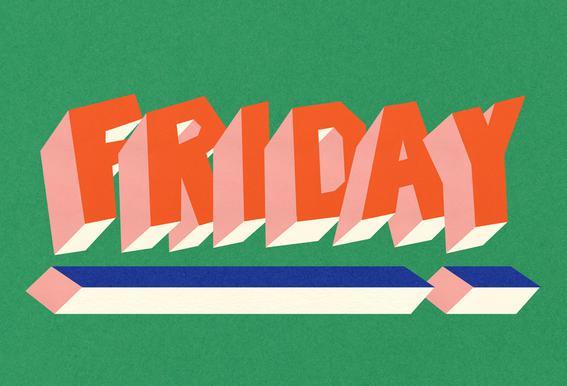 FRIDAY! -Acrylglasbild