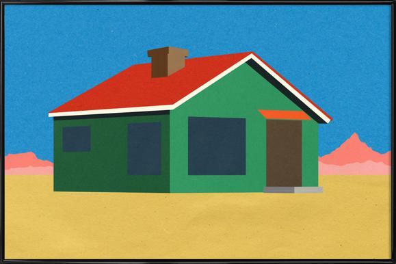 Joshua Tree House Framed Poster