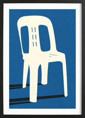 Monobloc Plastic Chair No II Framed Print