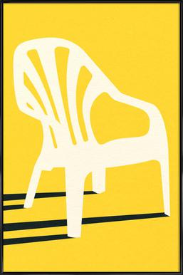 Monobloc Plastic Chair No VI Plakat i standardramme