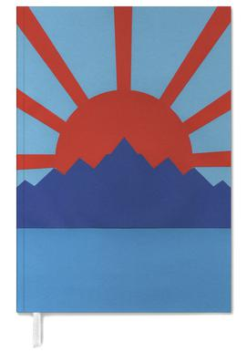 Ocean Moutains Rising Sun Personal Planner