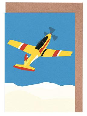 Pilatus PC-7 Solo Display Greeting Card Set