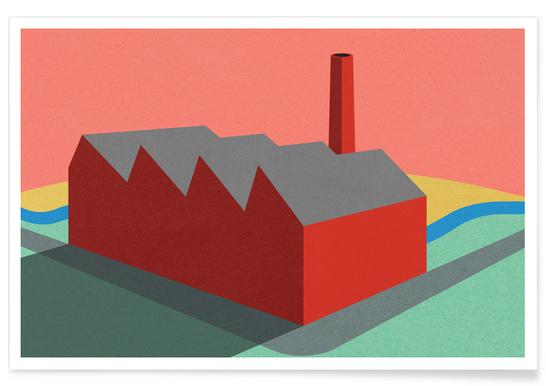 Sunset Factory Plakat
