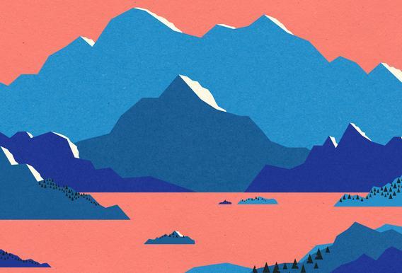 Swedish Morning II Plakat af akrylglas