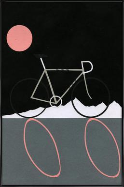 Tour de Noir Framed Poster